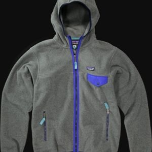 Patagonia mens Synchilla Snap T hoodie